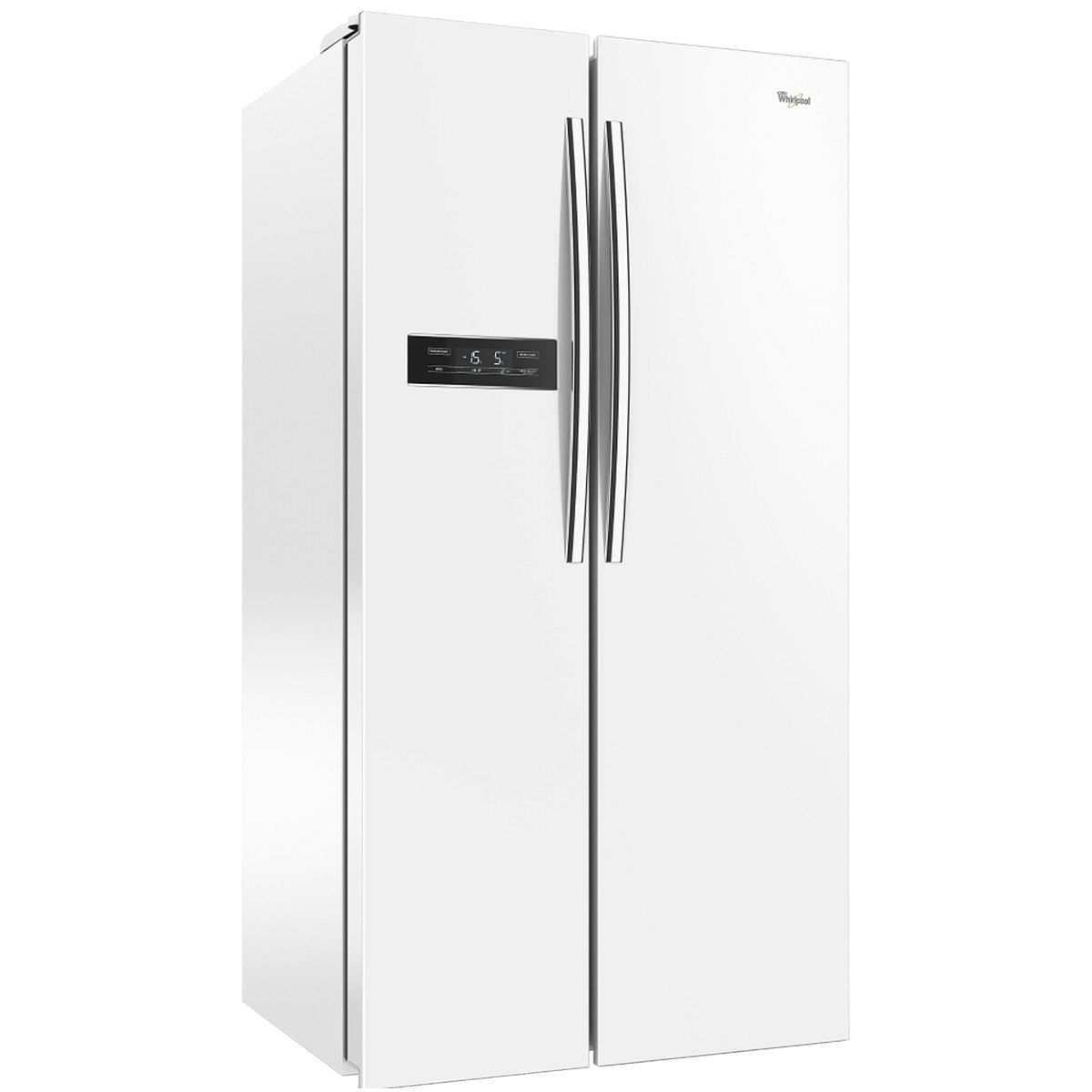 Whirlpool 19 Cft White Side By Side Refrigerator Touch Panel Easy Ice Tempered Glass Shelves No Dispenser Standard Distributors Limited